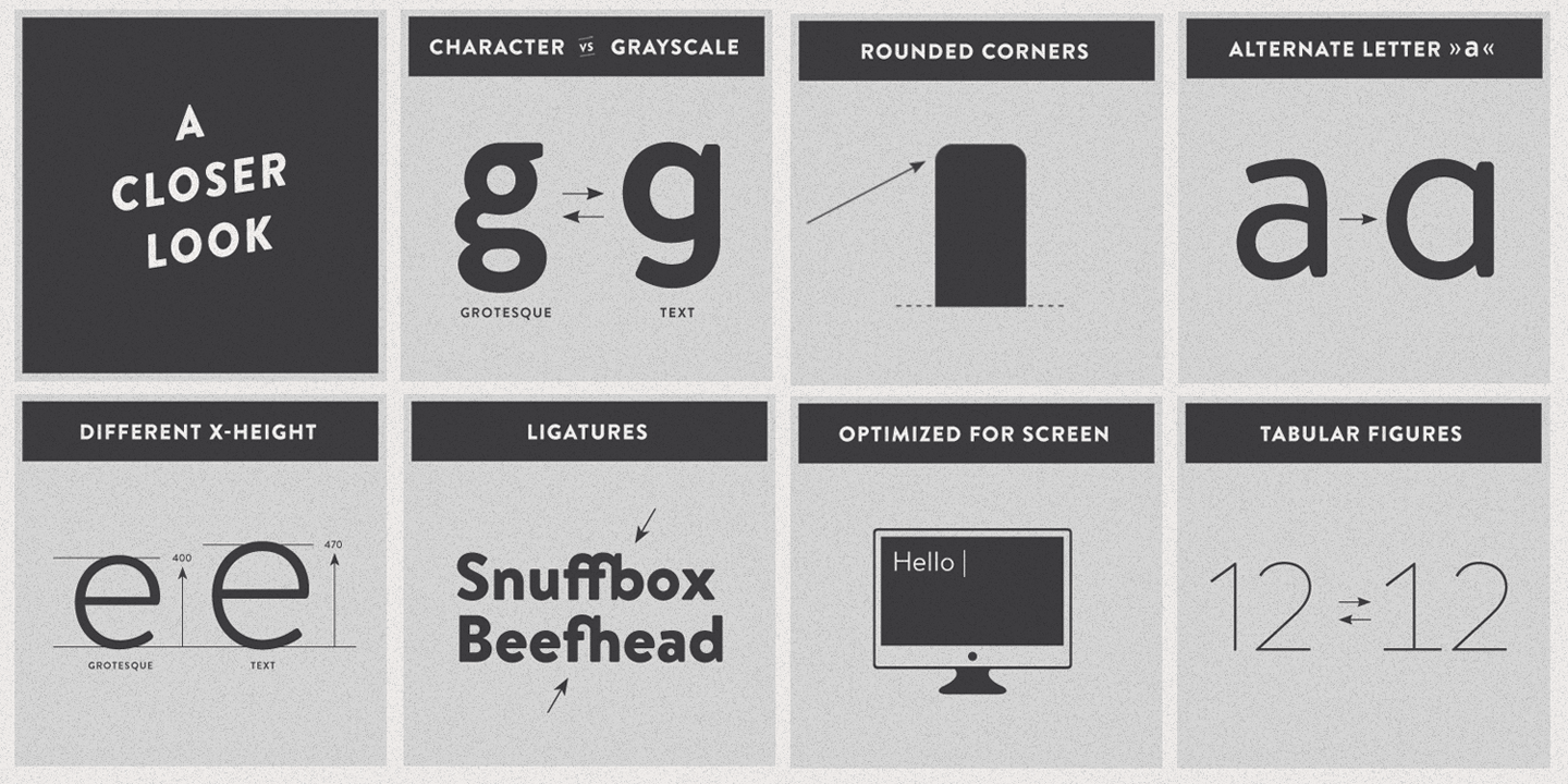 Brandon text typeface