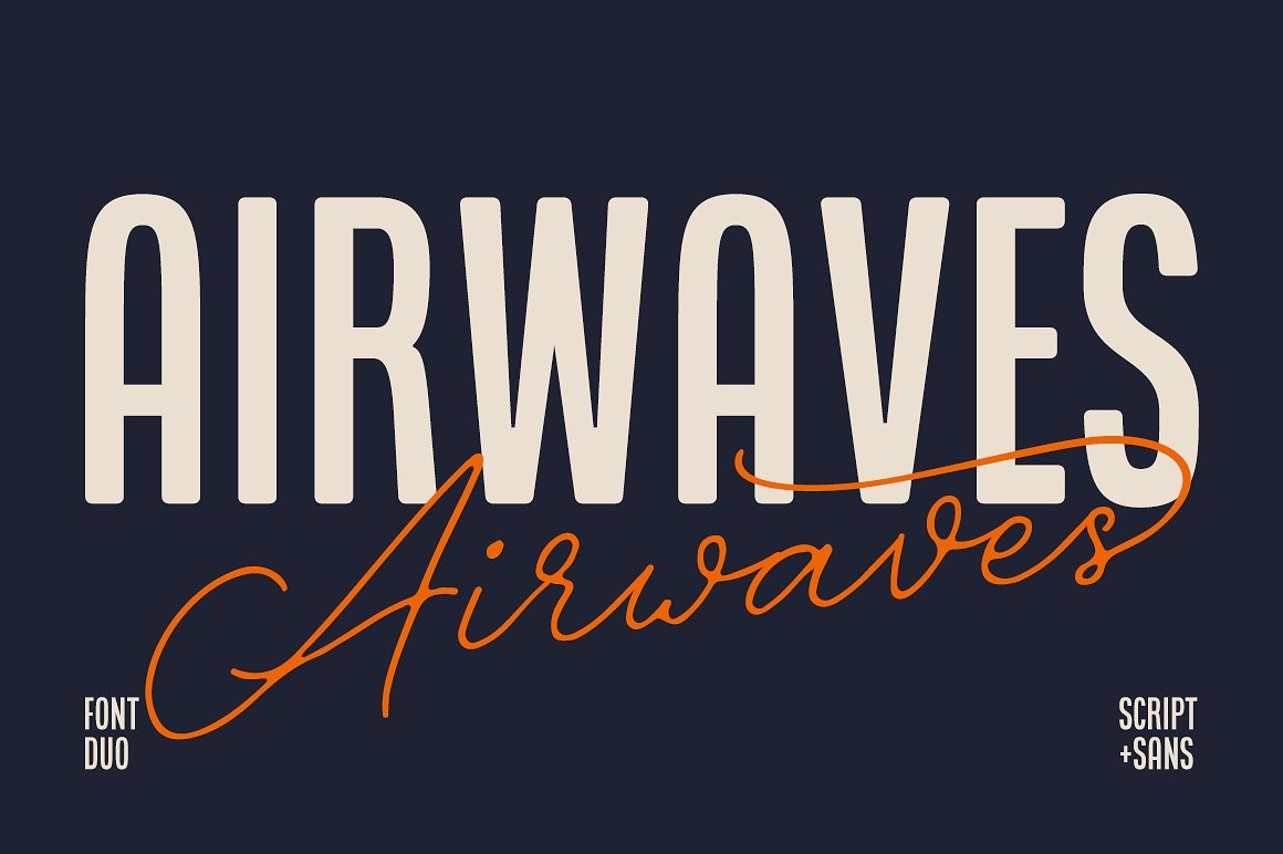 Airwaves Font Duo