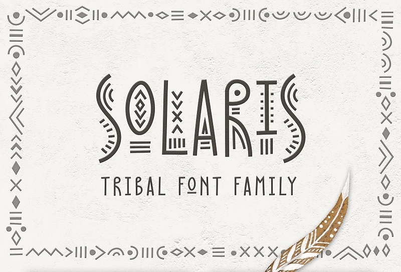 Tribal Fonts