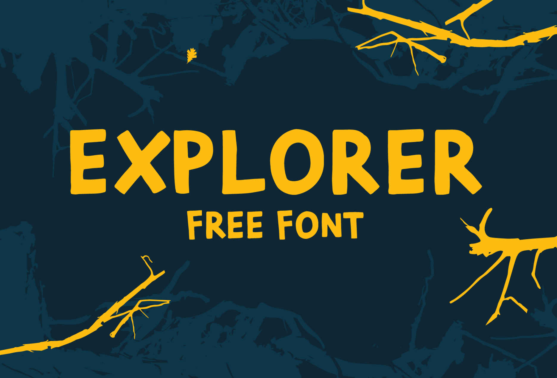 Explorer - Hand Drawn Font