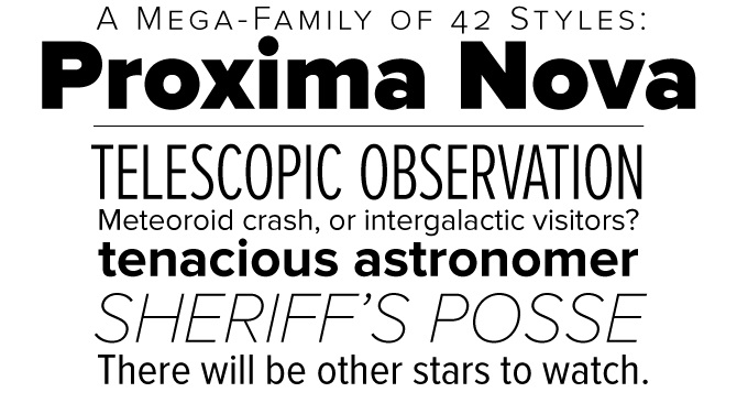 Design Better With The Proxima Nova Font Family Hipfonts