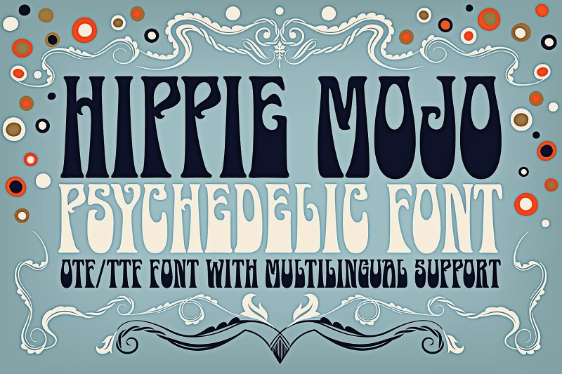 Psychedelic Fonts
