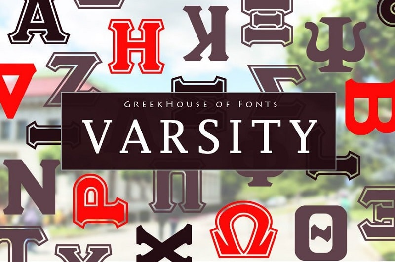 College Fonts