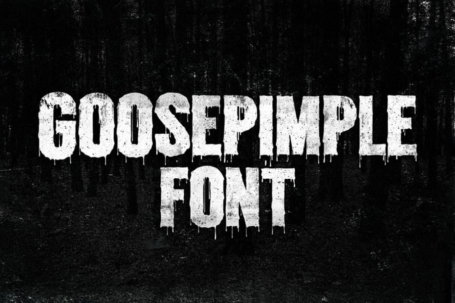 Dripping Fonts