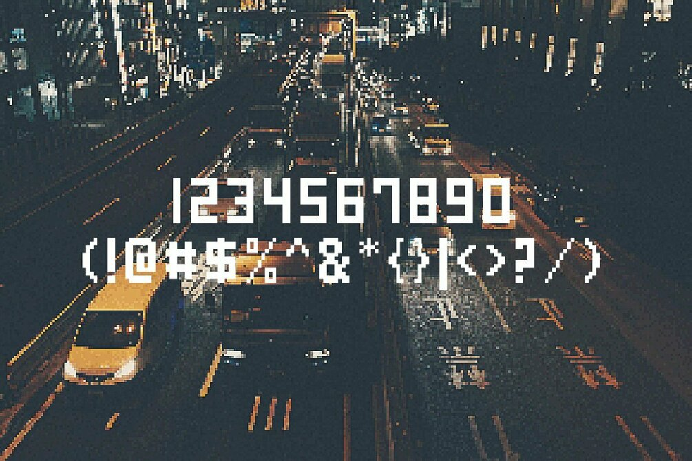 game over font 2