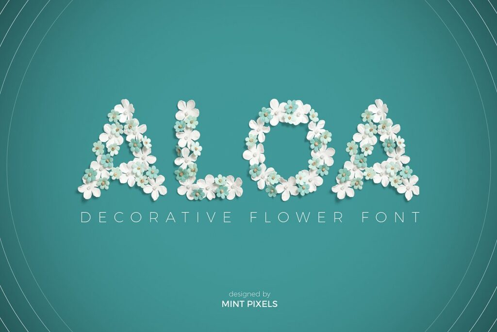 AloaFlowerFont