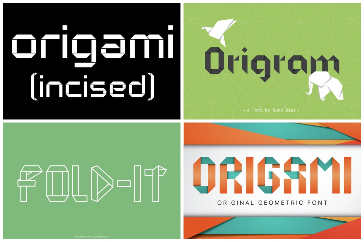 Origami Fonts cover min