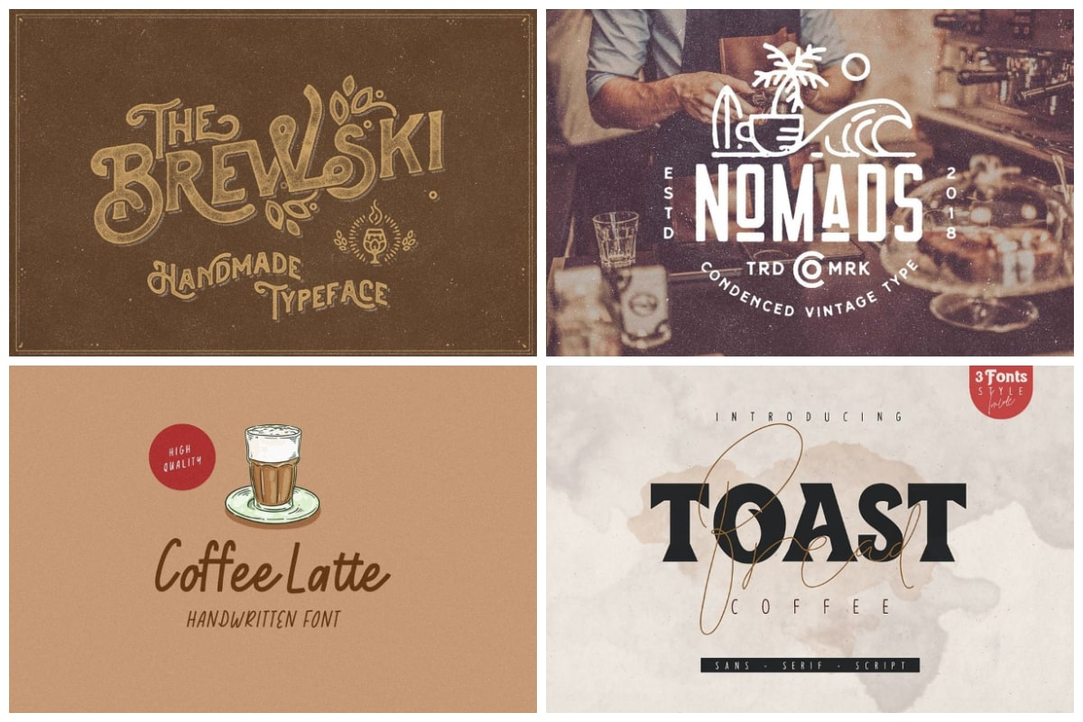 Coffee fonts cover min