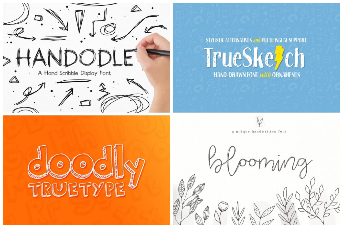 Scribble fonts cover min
