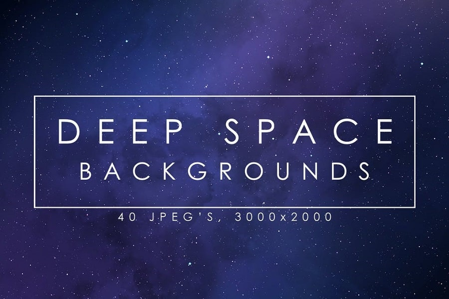 40 Deep Space Backgrounds min