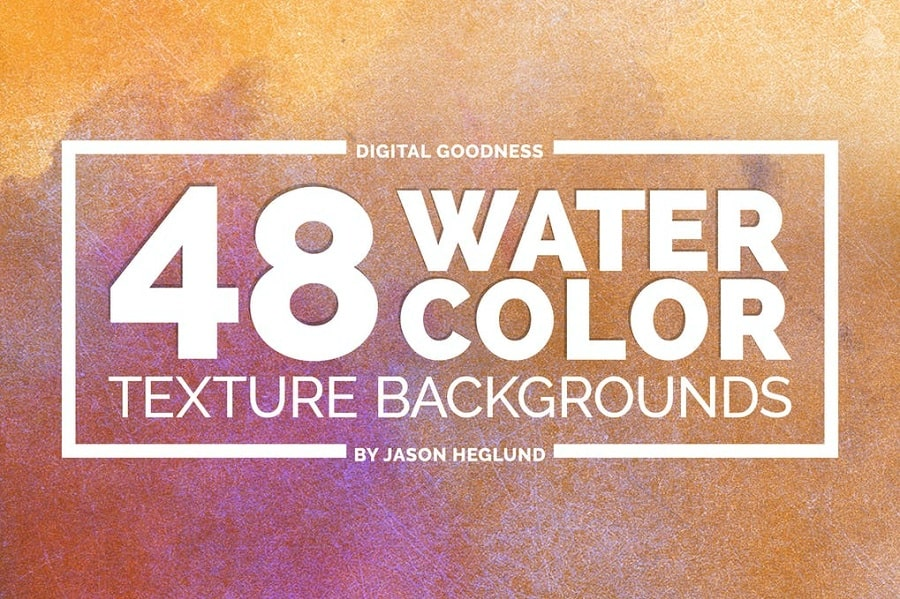 48 Watercolor Backgrounds min