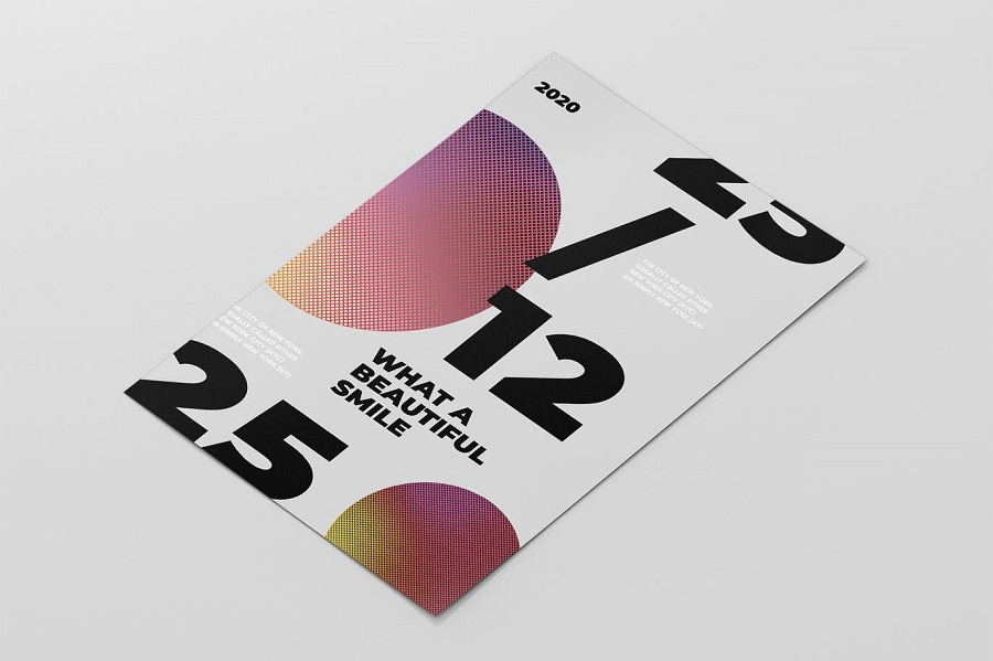 Abstract Typography Poster2