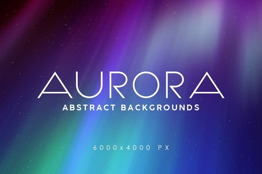 Aurora Space Backgrounds min