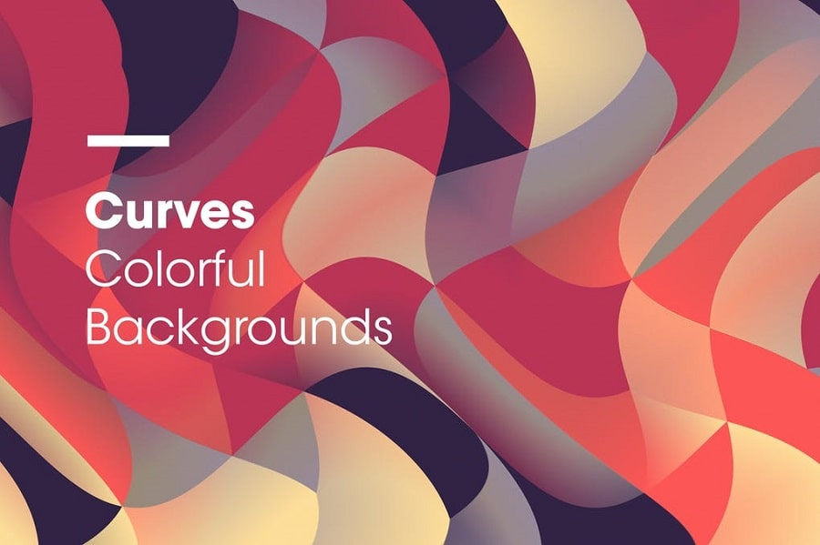 Curves Colorful Backgrounds min