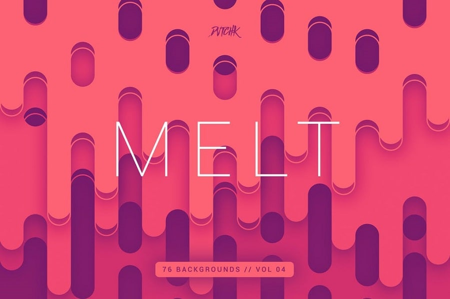 Melt Abstract Rounded min