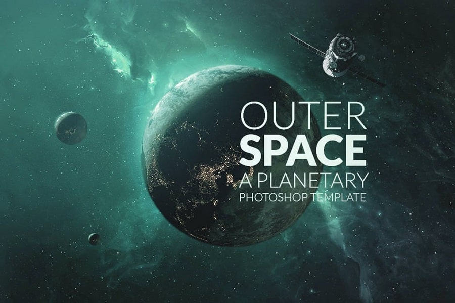 Outer Space Planetary Template min