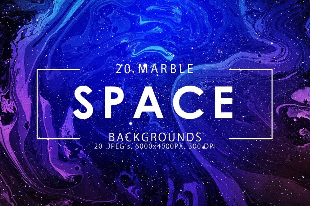 Space Marble Background min
