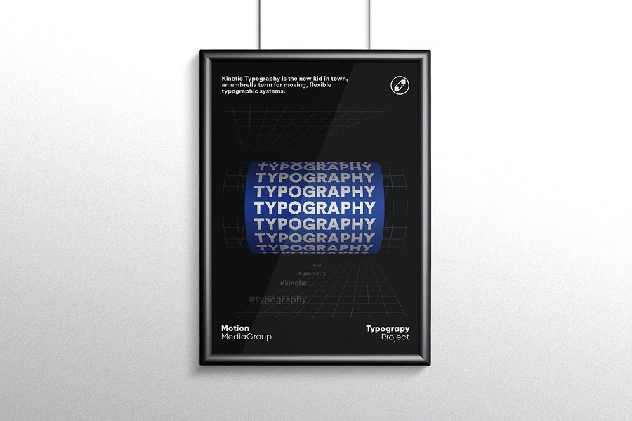 Typography Poster Template 1