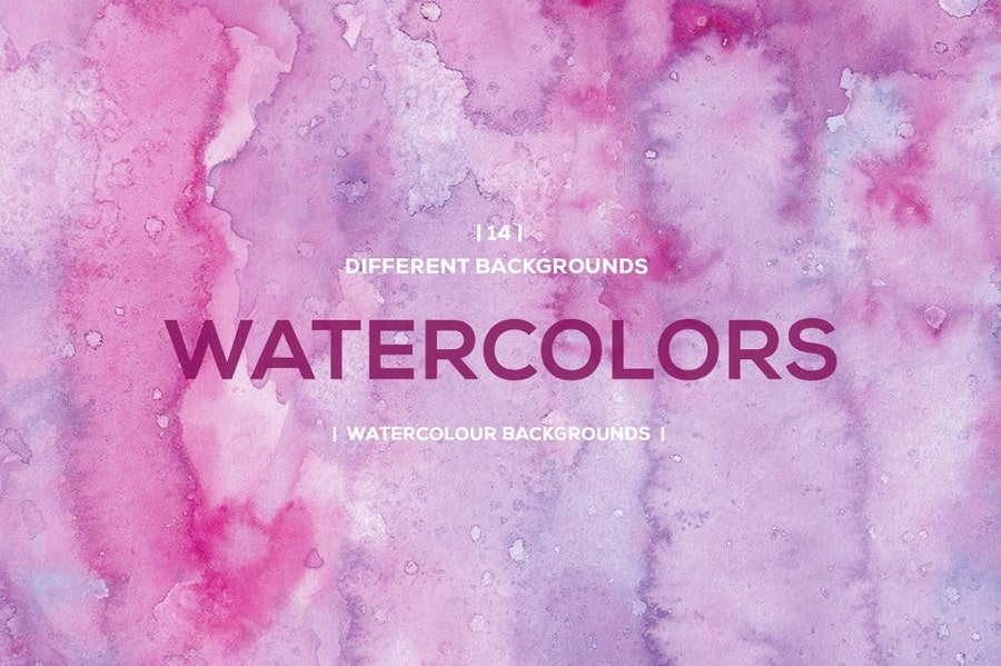 Watercolor Backgrounds pink min