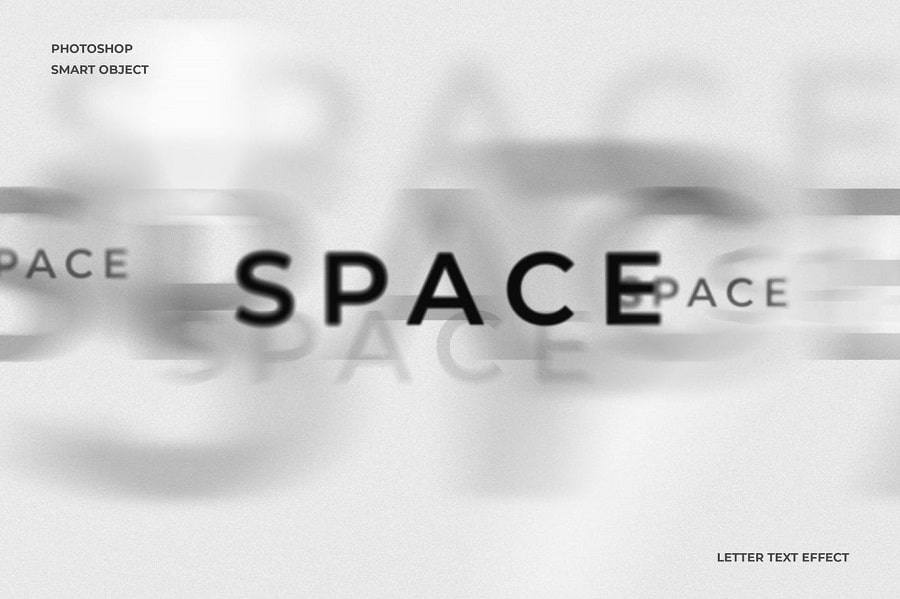 Space Text Effect min