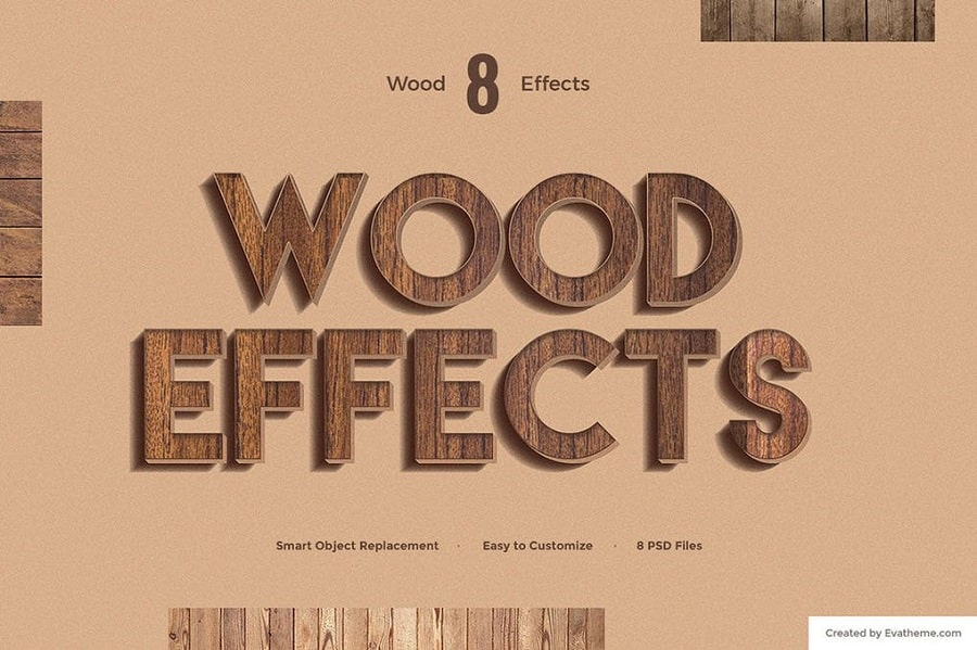 Wood Text Effects min