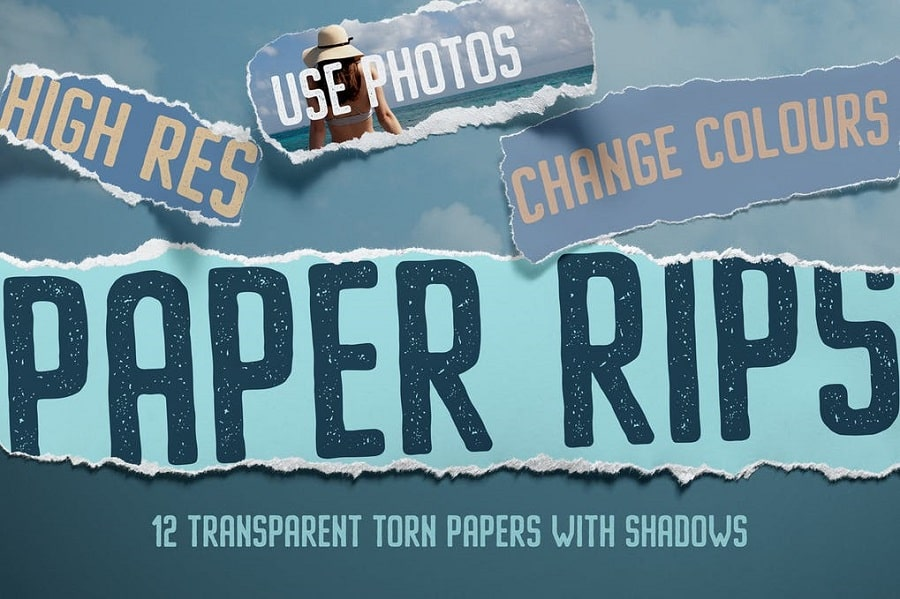 12 Isolated Paper Rips min