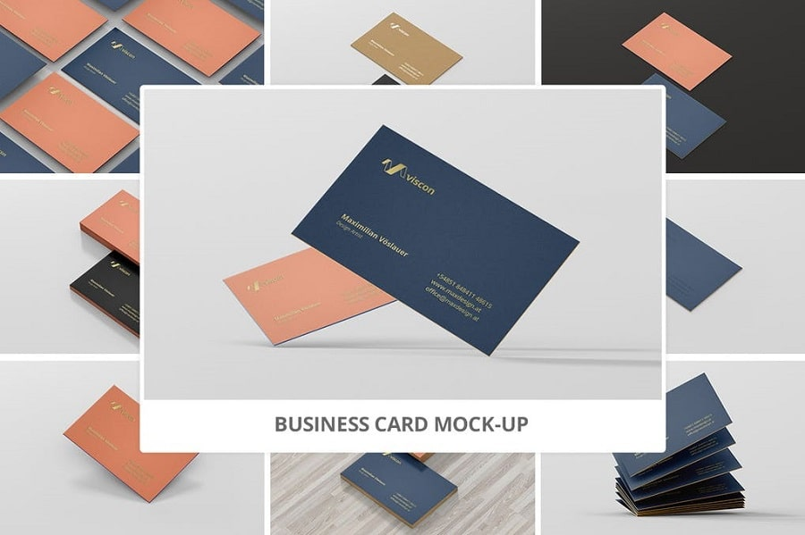 Business Card Mock Up min