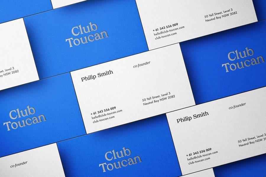 Business Cards Mockup Scene min