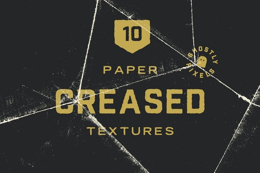 Creased Paper Textures min
